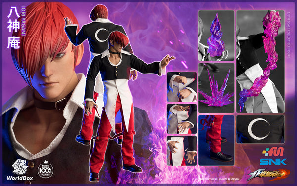 1/6 Scale The King Of Fighters - Iori Yagami Figure (Standard Edition) by WorldBox