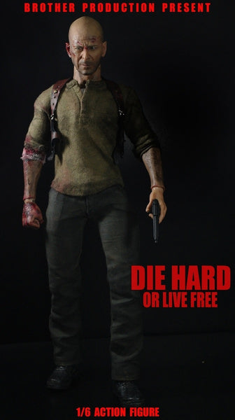 1/6 Scale Die Hard or Live Free Johnny 2.0 Figure by Brother Production
