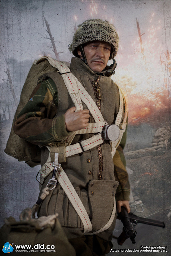 1/6 Scale WWII British 1st Airborne Division (Red Devils) Commander Roy Figure by DID