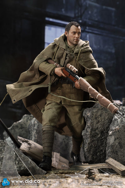 1/6 Scale Battle Of Stalingrad 1942 - Vasily Grigoryevich Zaytsev Figure by DID