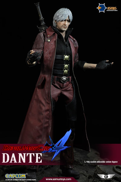 1/6 Scale Devil May Cry 4 Dante Figure (Luxury Version) by Asmus Toys
