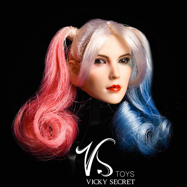 1/6 Scale Quinn Head Sculpt & Outfit Set by VS Toys