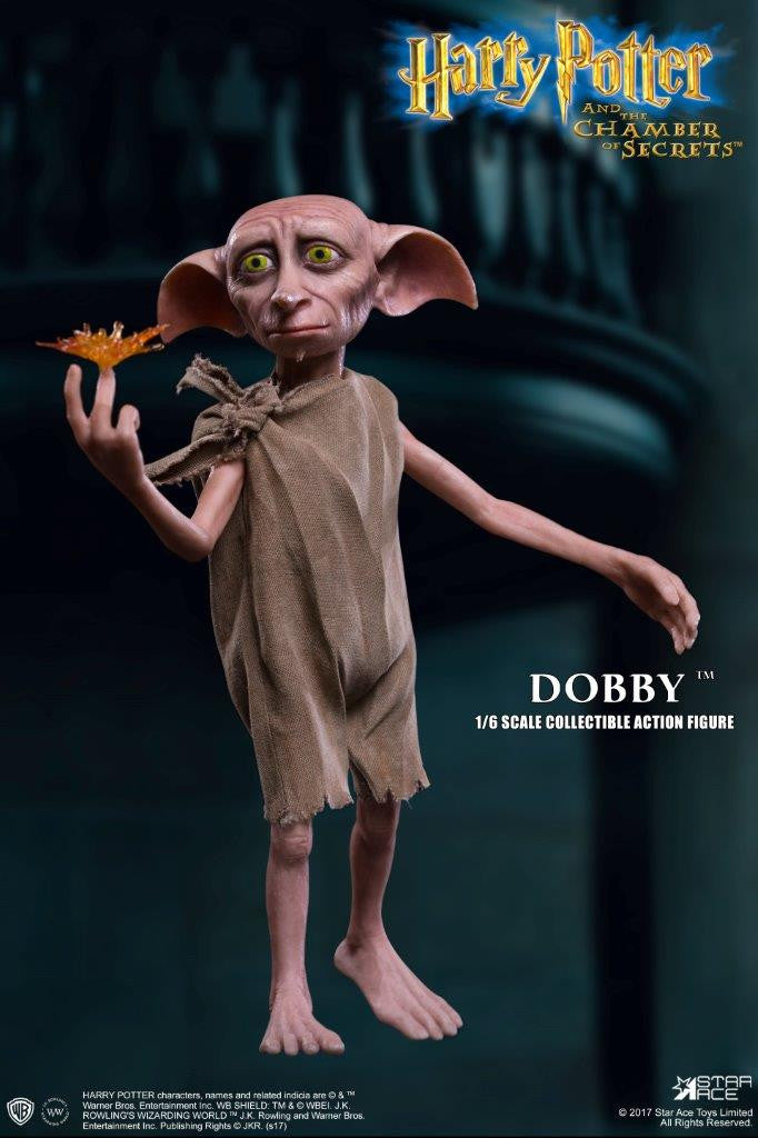 Superior 1/6 Scale Dobby The House Elf Harry Potter Figure By Star Ace Toys