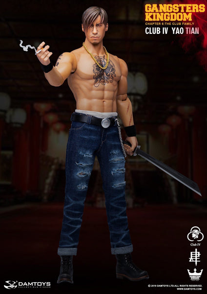 1/6 Scale Gangsters Kingdom - YaoTian Figure & Tabernacle by DamToys