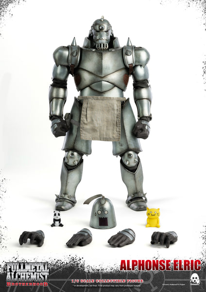 1/6 Scale Fullmetal Alchemist: Brotherhood – Alphonse Elric Figure by Threezero