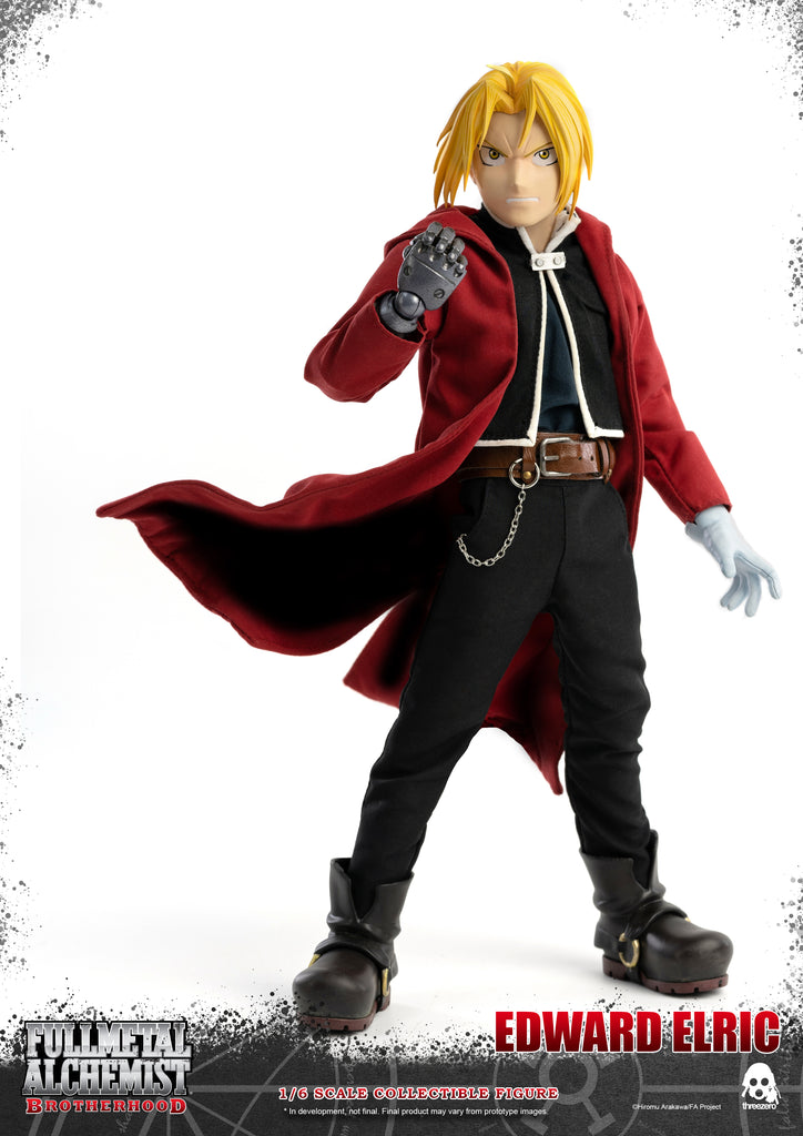 1/6 Scale Fullmetal Alchemist: Brotherhood – Edward Eric Figure by Threezero