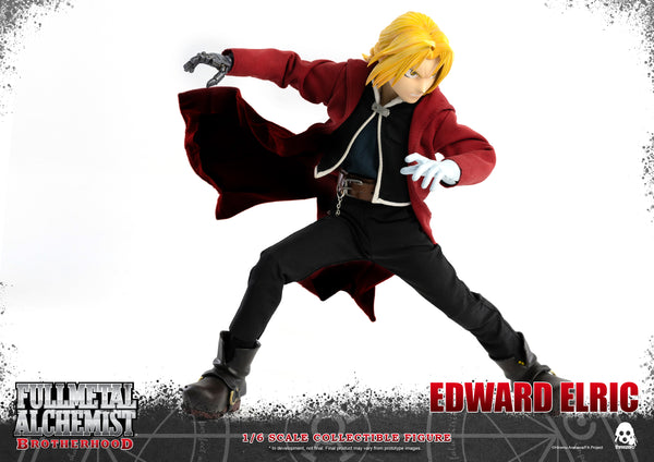 1/6 Scale Fullmetal Alchemist: Brotherhood – Edward Eric & Alphonse Elric Figure Bundle by Threezero