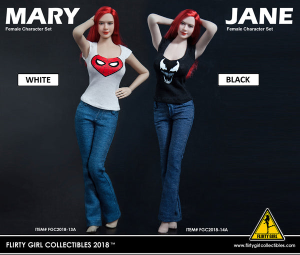 1/6 Scale Mary Jane Outfit (2 Styles) by Flirty Girl