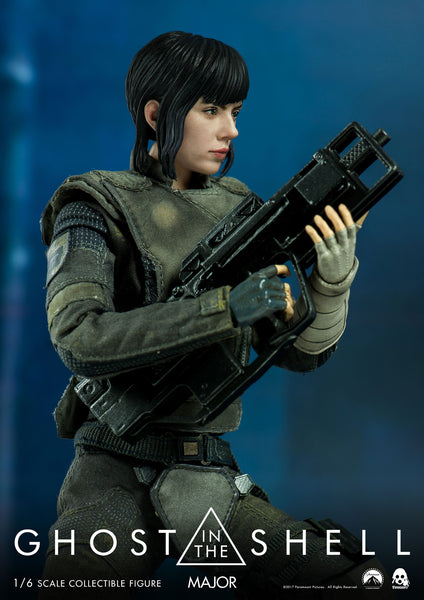 1/6 Scale Ghost in the Shell - MAJOR Figure (Standard Version) by Threezero