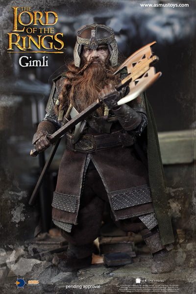 1/6 Scale Lord of the Rings Gimli Figure by Asmus Toys