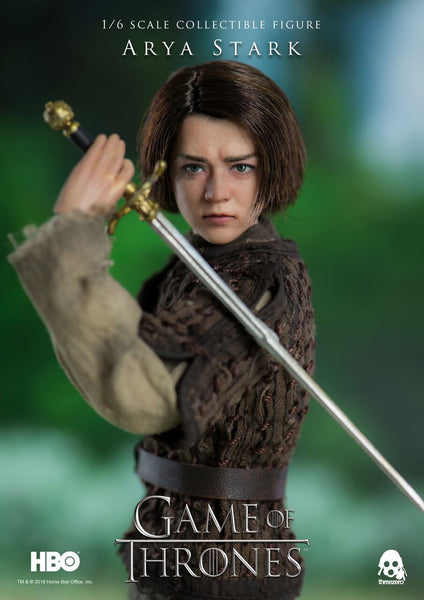 1/6 Scale Game of Thrones Arya Stark Figure by Threezero