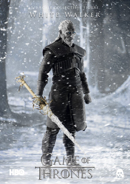 1/6 Scale Game of Thrones White Walker Figure by Threezero
