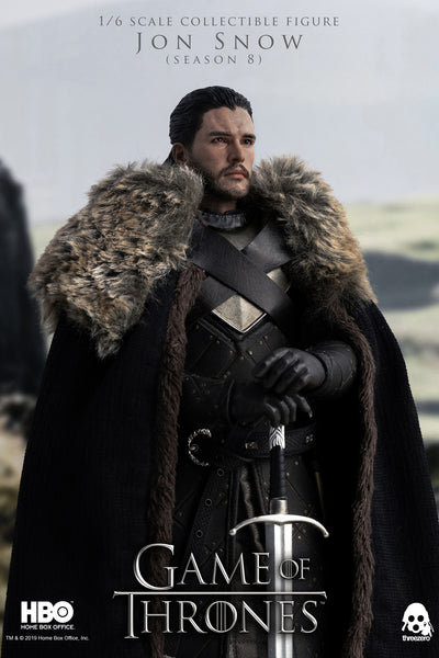 1/6 Scale Game of Thrones - Jon Snow Figure (Season 8) by Threezero
