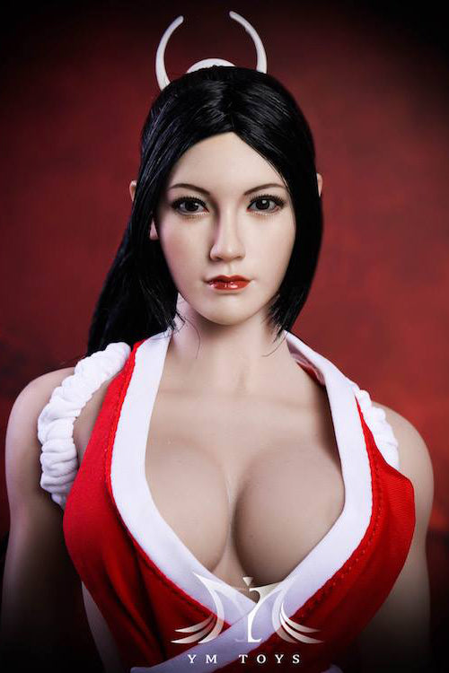 1/6 Scale Fang Hu Head Sculpt (H047B) by YMToys