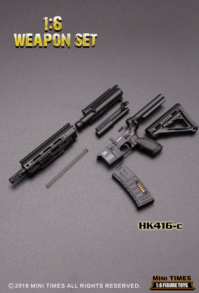 1/6 Scale HK416 Assault Rifle (6 Styles) by Mini Times