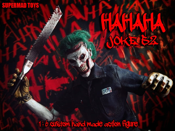 1/6 Scale HaHaHa Joke 52 Figure by SuperMad Toys