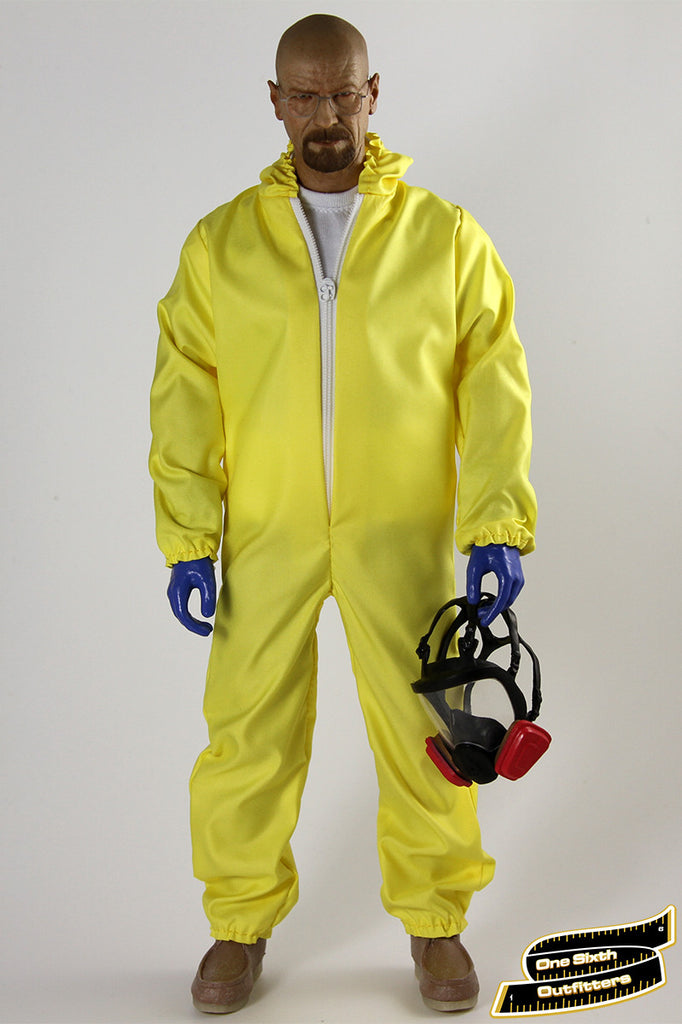 1/6 Scale Custom Exclusive Chemical Hazmat Suit by One Sixth Outfitters