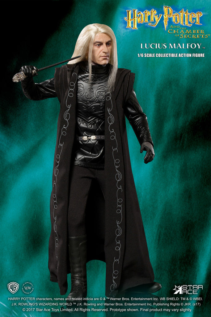 New Harry Potter Lucius Malfoy 1//6 Scale Star Ace Figure