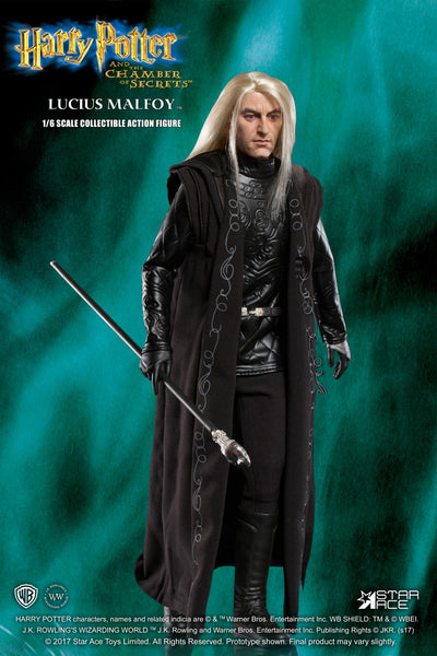 1/6 Scale Harry Potter and the Chamber of Secrets Lucius Malfoy Figure by Star Ace Toys