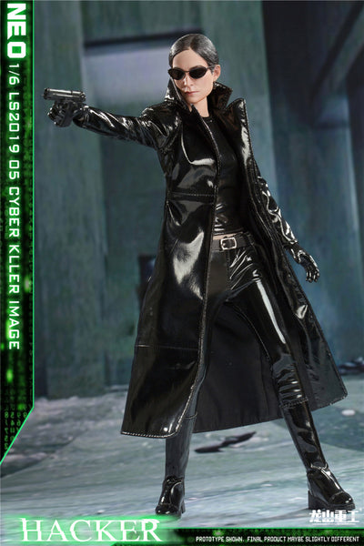 1/6 Scale Cyber Hacker Killer Figure by LONGSHANJINSHU