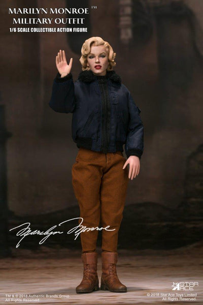 1/6 Scale Marilyn Monroe (Military Outfit) Figure by Star Ace Toys