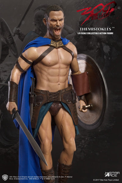 1/6 Scale 300: Rise of an Empire General Themistokles Figure by Star Ace Toys