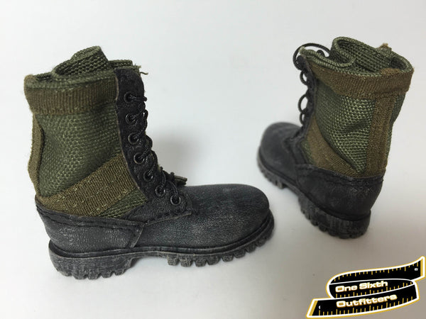 1/6 Scale Jungle Combat Boots