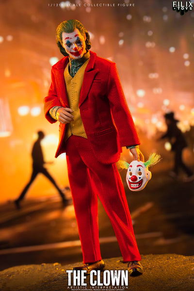 1/12 Scale The Clown Figure by Filix Toys