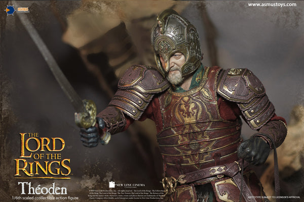 1/6 Scale The Lord of the Rings - Théoden Figure by Asmus Toys