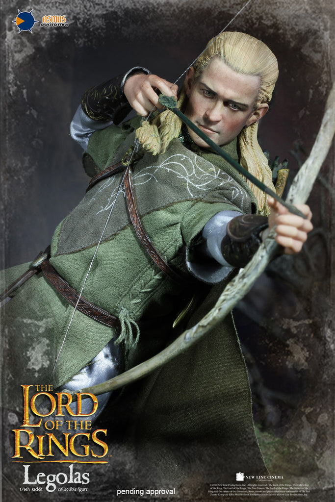 1 6 scale the lord of the rings legolas figure regular version by