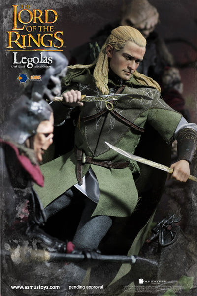 1/6 Scale The Lord of the Rings Legolas Figure (Luxury Version) by Asmus Toys
