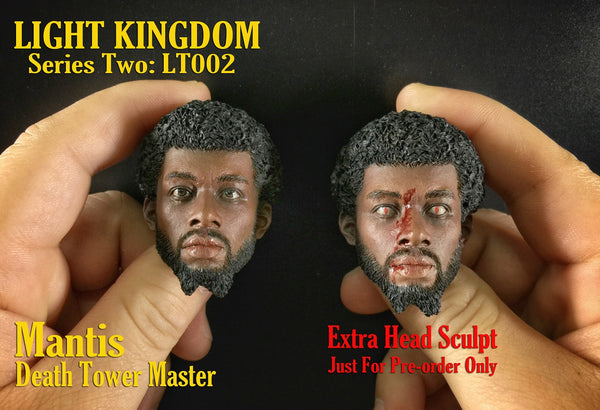 1/6 Scale Death Tower Master Mantis Hakim Outfit Set by Light Kingdom