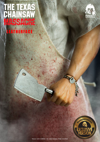1/6 Scale The Texas Chainsaw Massacre Leatherface Figure (Exclusive Version) by Threezero