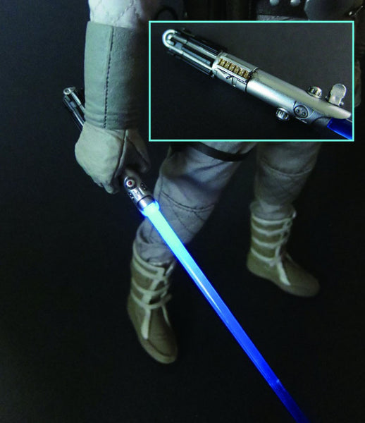 1/6 Scale Luke's Blue LED Lightsaber