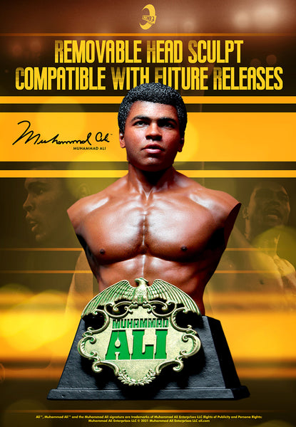 1/6 Scale Muhammad Ali Collectible Bust by ICONIQ Studios