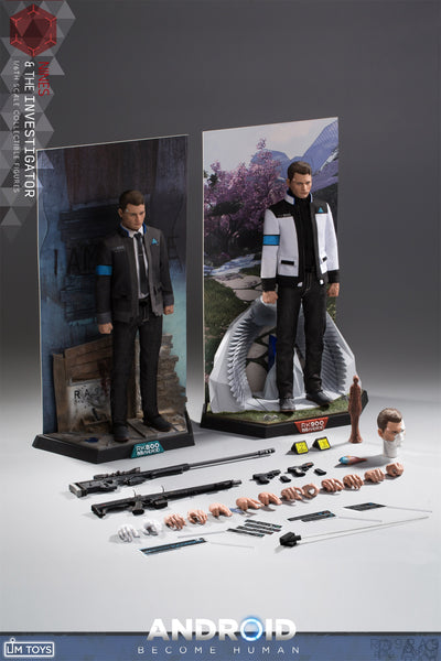 1/6 Scale The Investigator / Nines Figure Set by LIM Toys