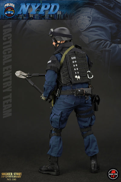 1/6 Scale NYPD ESU Tactical Entry Team Figure (SS100) by Soldier Story