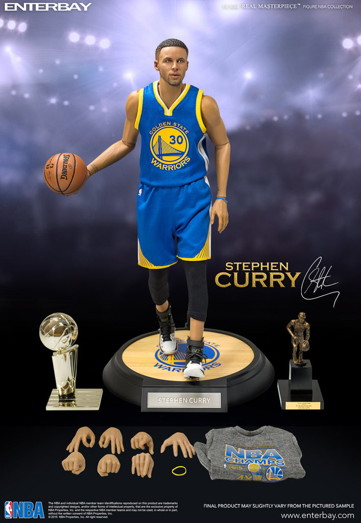 1 6 Scale Stephen Curry NBA Golden State Warriors Figure By Enterbay