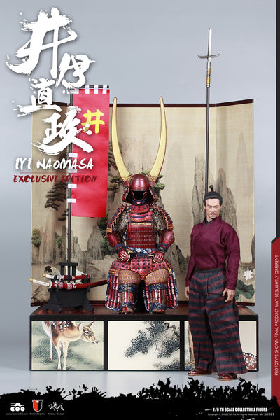 1/6 Scale Naomasa The Scarlet Yaksha Figure (Exclusive Edition) by COO Model