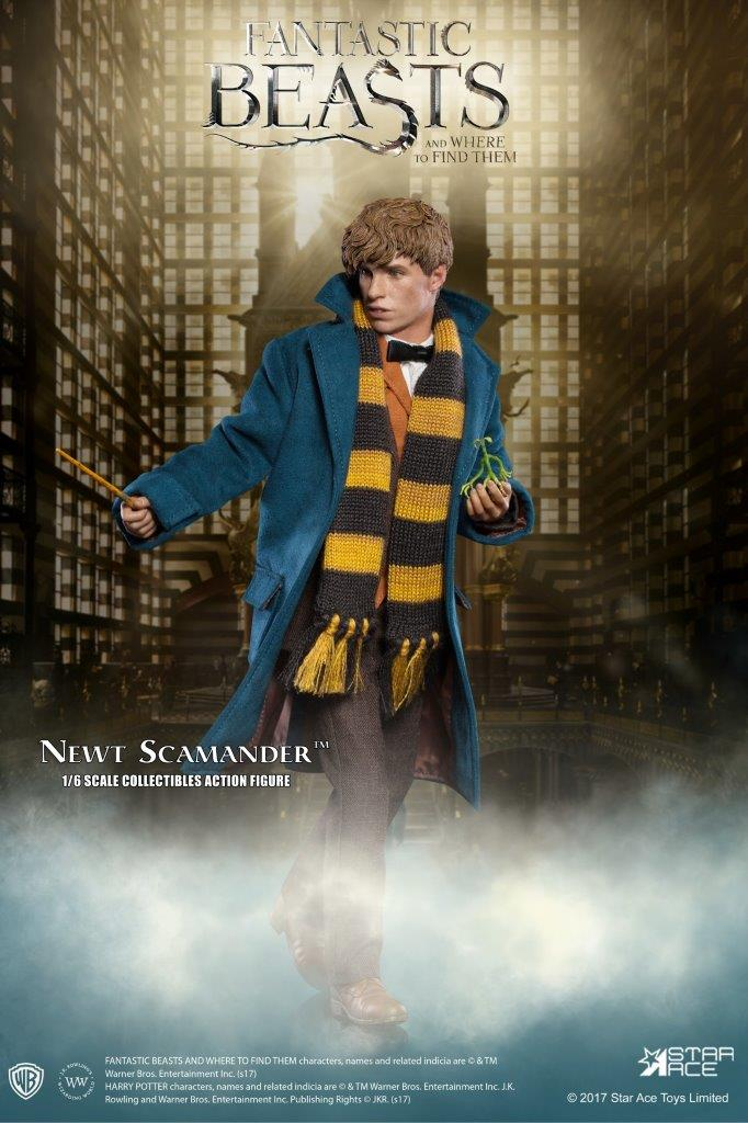 Star Ace Fantastic Beasts Newt Scamander Bowtruckle Pickett loose 1//6th scale