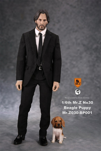 1/6 Scale Beagle Puppy Figure by Mr.Z