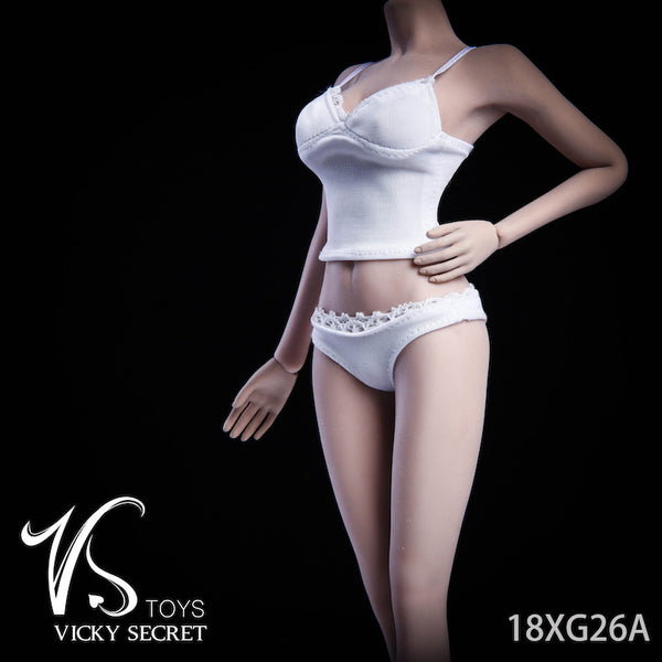 1/6 Scale Camisole Underwear Set (2 Colors) by VS Toys