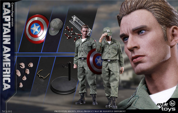 1/6 Scale 1970 Rogers Figure (Stealth Edition) by MIC Toys
