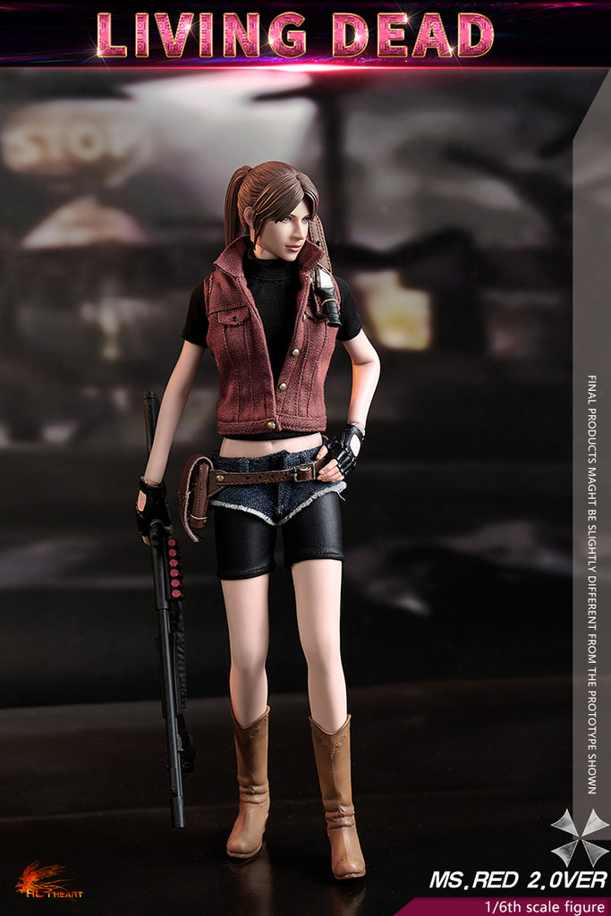 1/6 Scale Living Dead - Ms. Red 2.0 Figure by Hot Heart