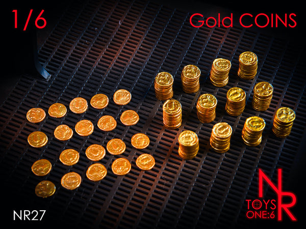 1/6 Scale Gold Coins by NRToys