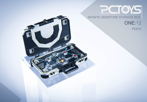 1/12 Scale Infinity Gemstone Storage Case by PCToys