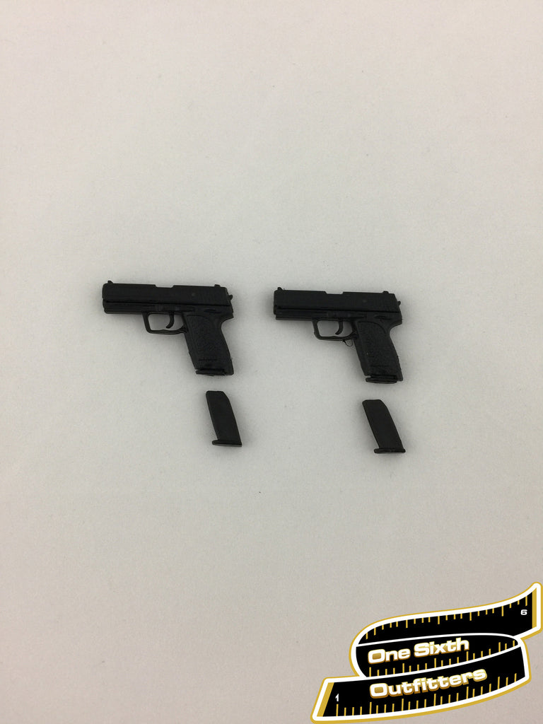 1/6 Scale P7 Pistol Hand Guns