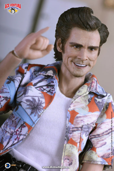1/6 Scale Ace Ventura Pet Detective Figure by Asmus Toys