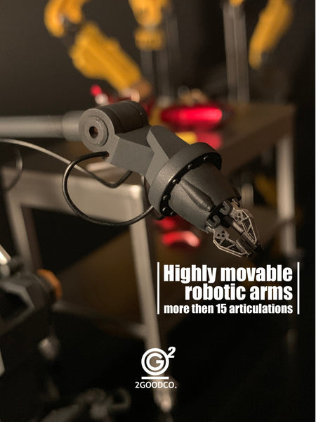1/12 Scale Stark Robotic Arm + Lab Accessories by 2GOODCO