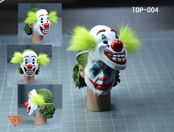 1/6 Scale Comedian Head Sculpt with Mask by TOP